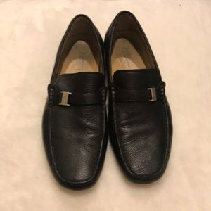 Men's Bruno Magli black leather shoes